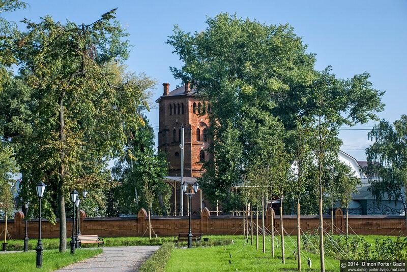 Рамонь. Замок принцессы Ольденбургской