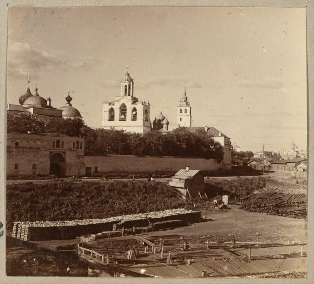Спасо-Преображенский монастырь. Ярославль. 1910.