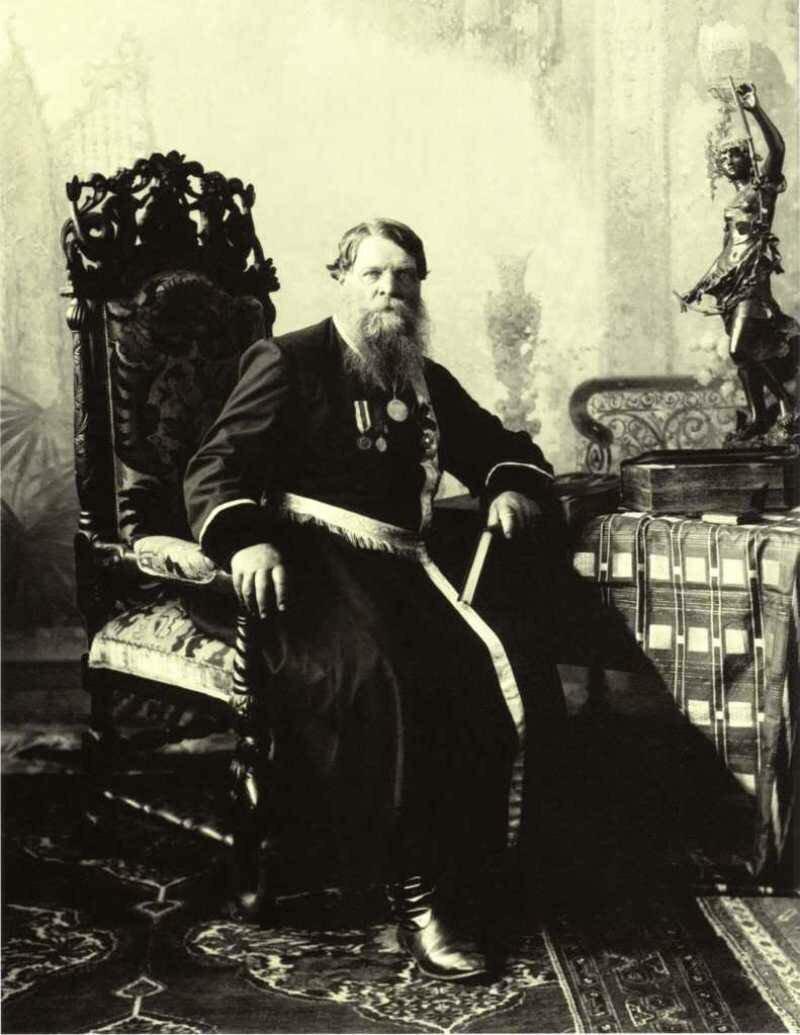 Купец Сергеев.Нижний Новгород. 1900-е.
