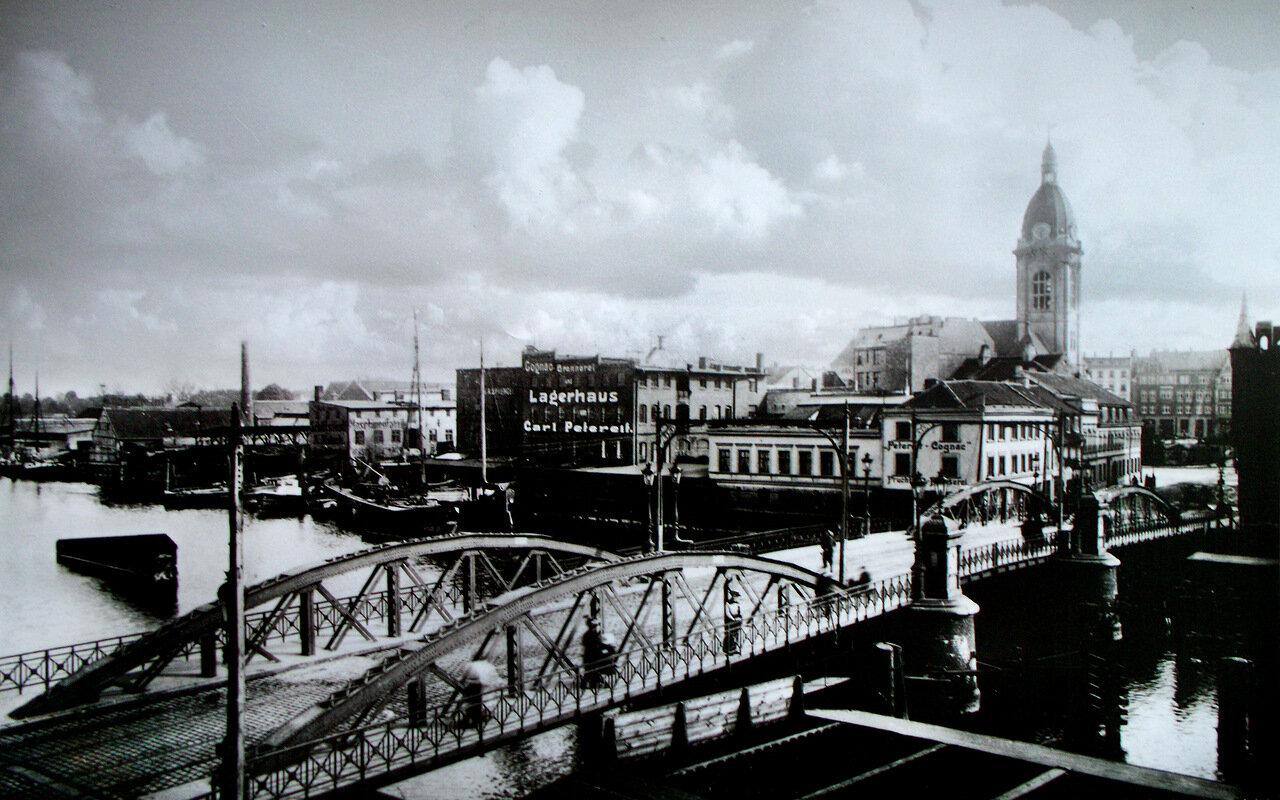 Высокий мост, Лютер-кирха, 1912 год.