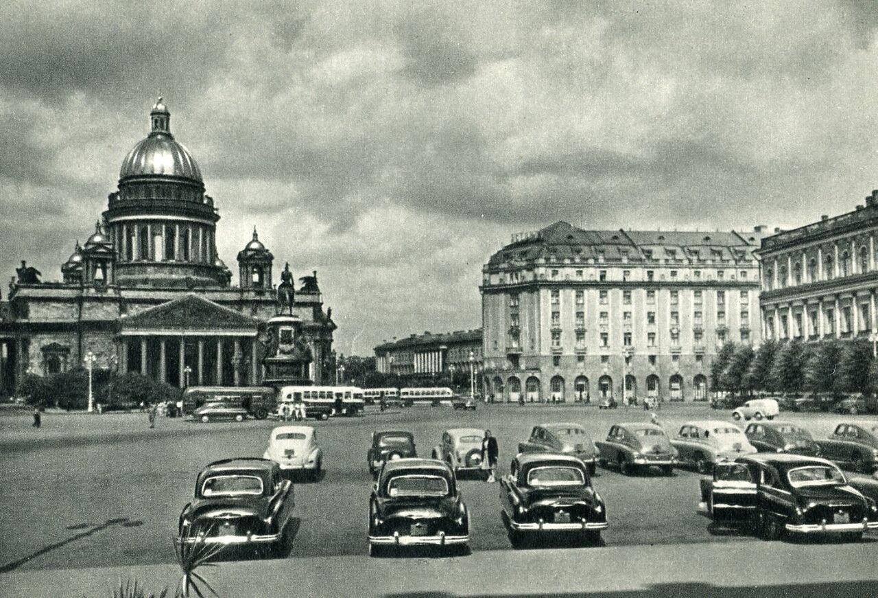 Исаакиевская площадь. 1965 год.