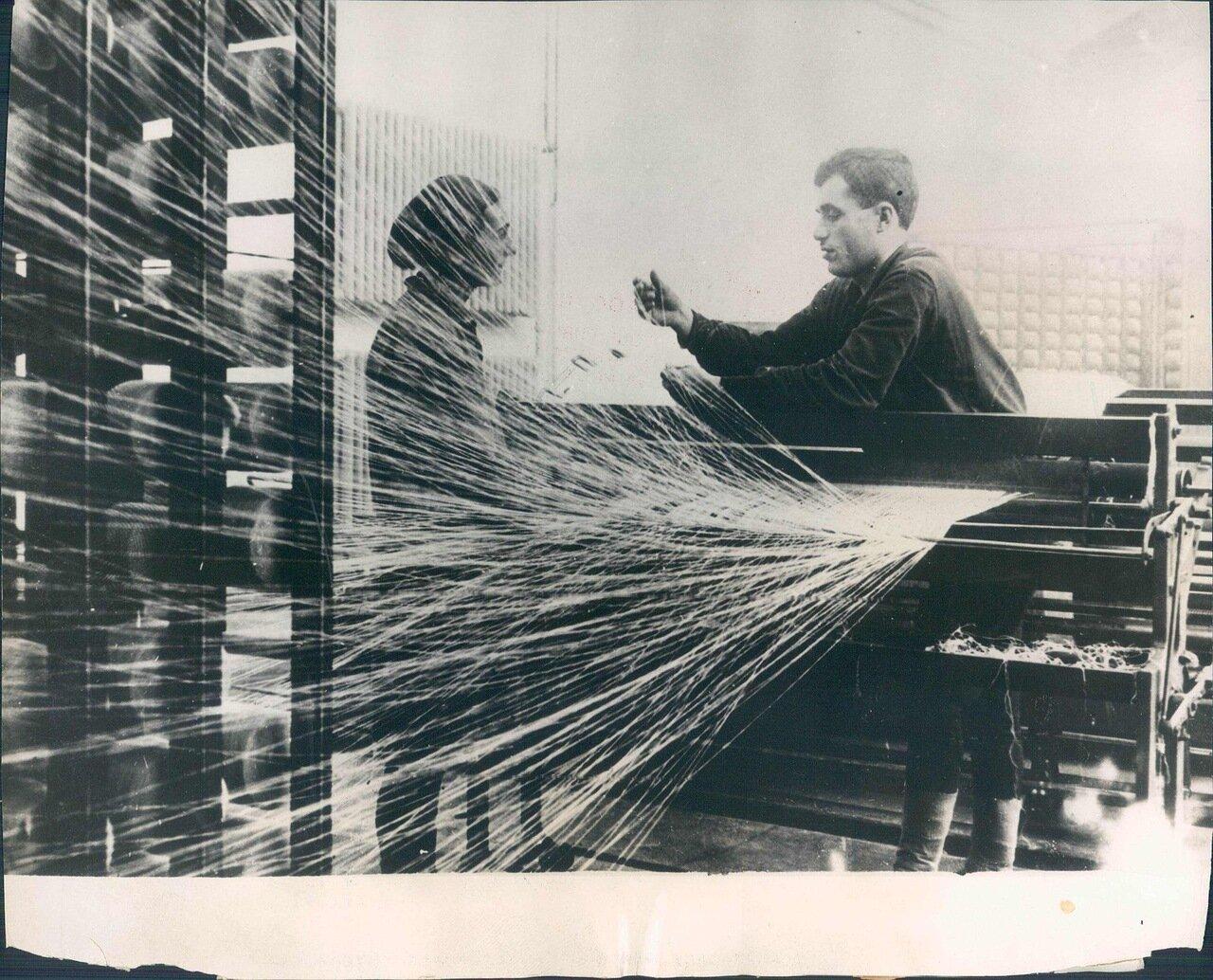 1931. Текстильная фабрика в Тифлисе