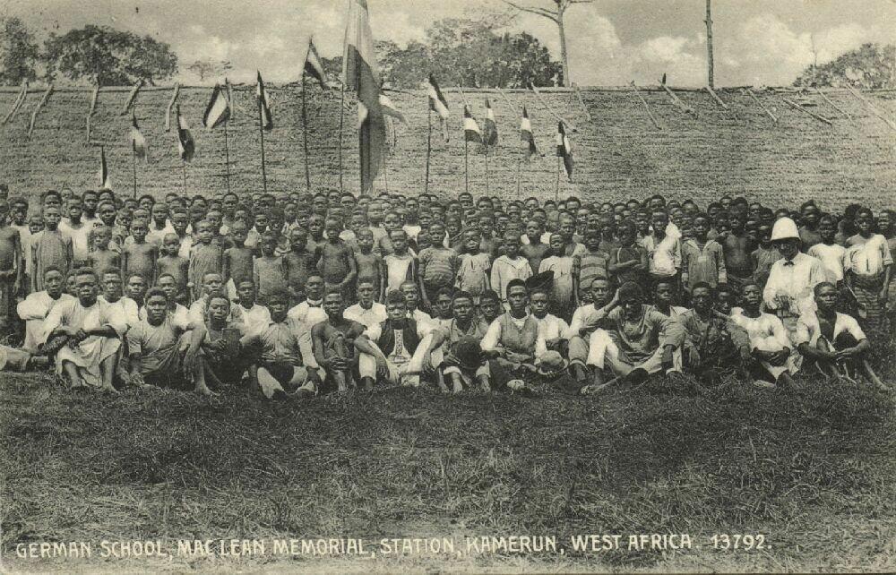 1910-е. Германская Западная Африка. Лолодорф, германская школа и мемориал Маклина