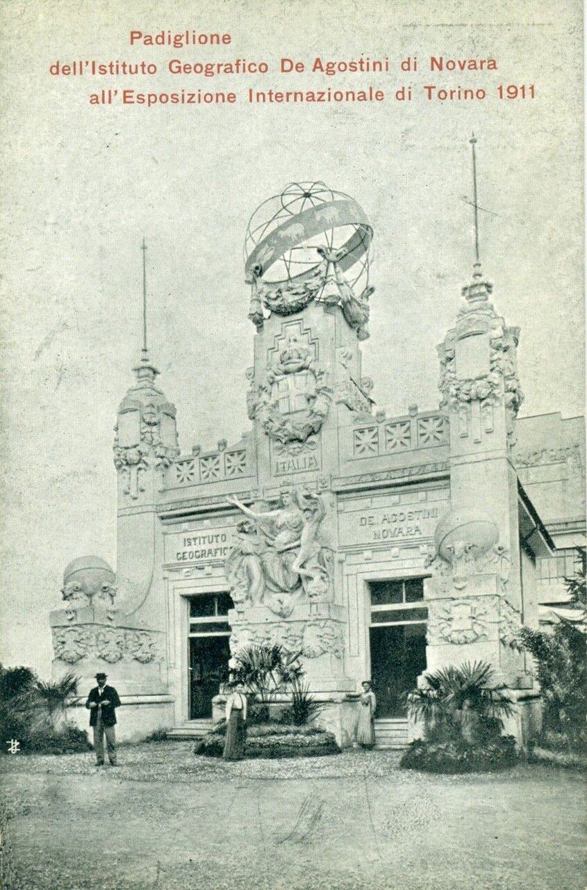 Павильон Географического института Де Агостини