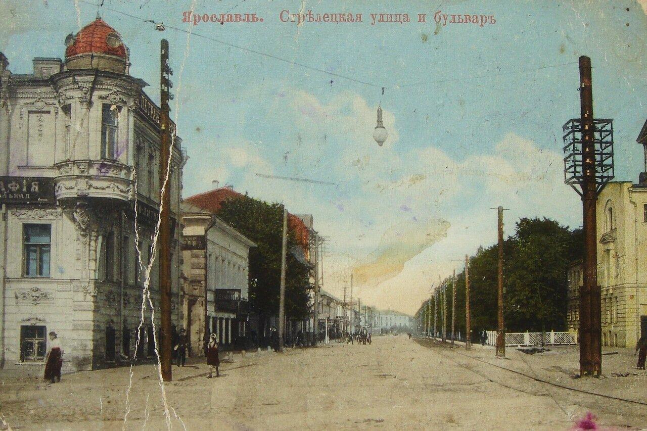 Стрелецкая улица и бульвар