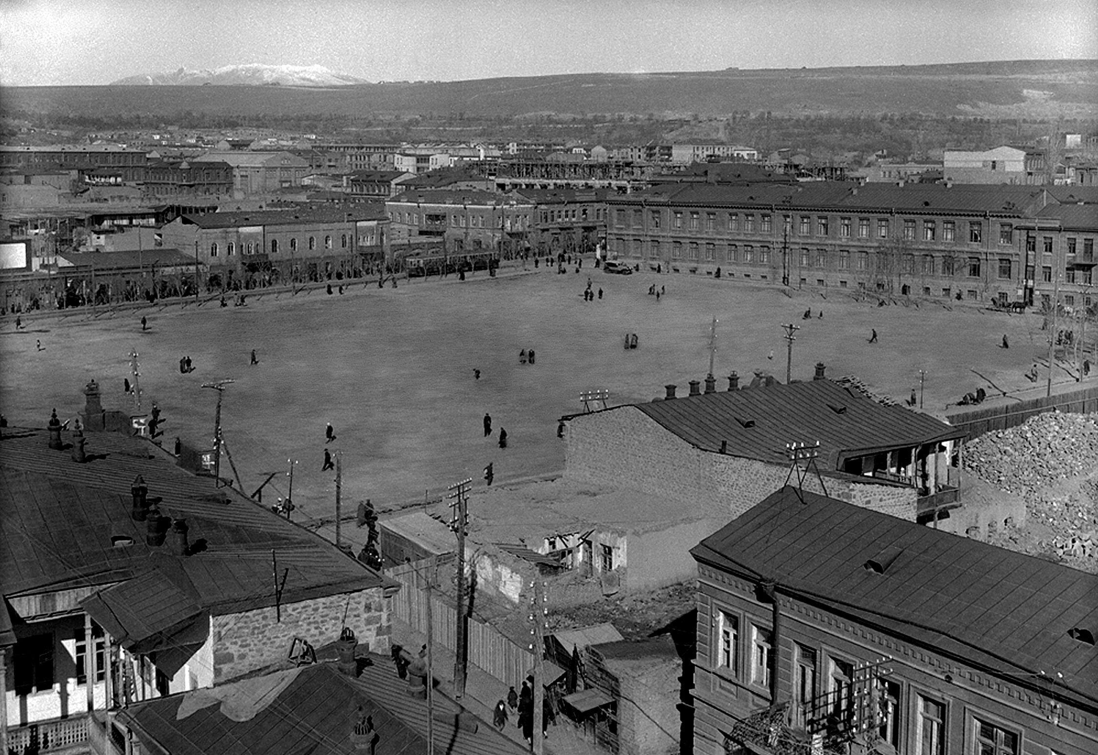 Главная площадь.1916