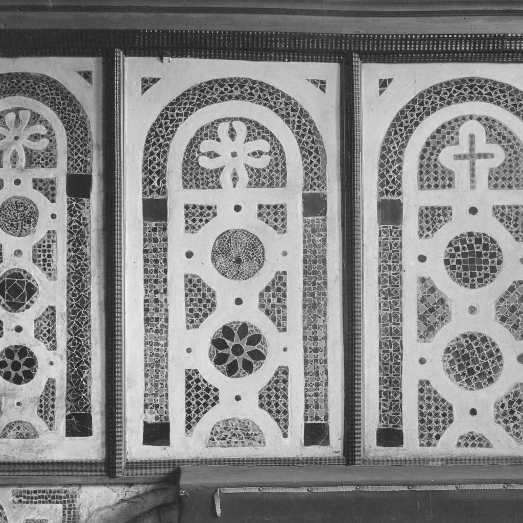 Софийский собор. Древняя мозаика в алтаре собора