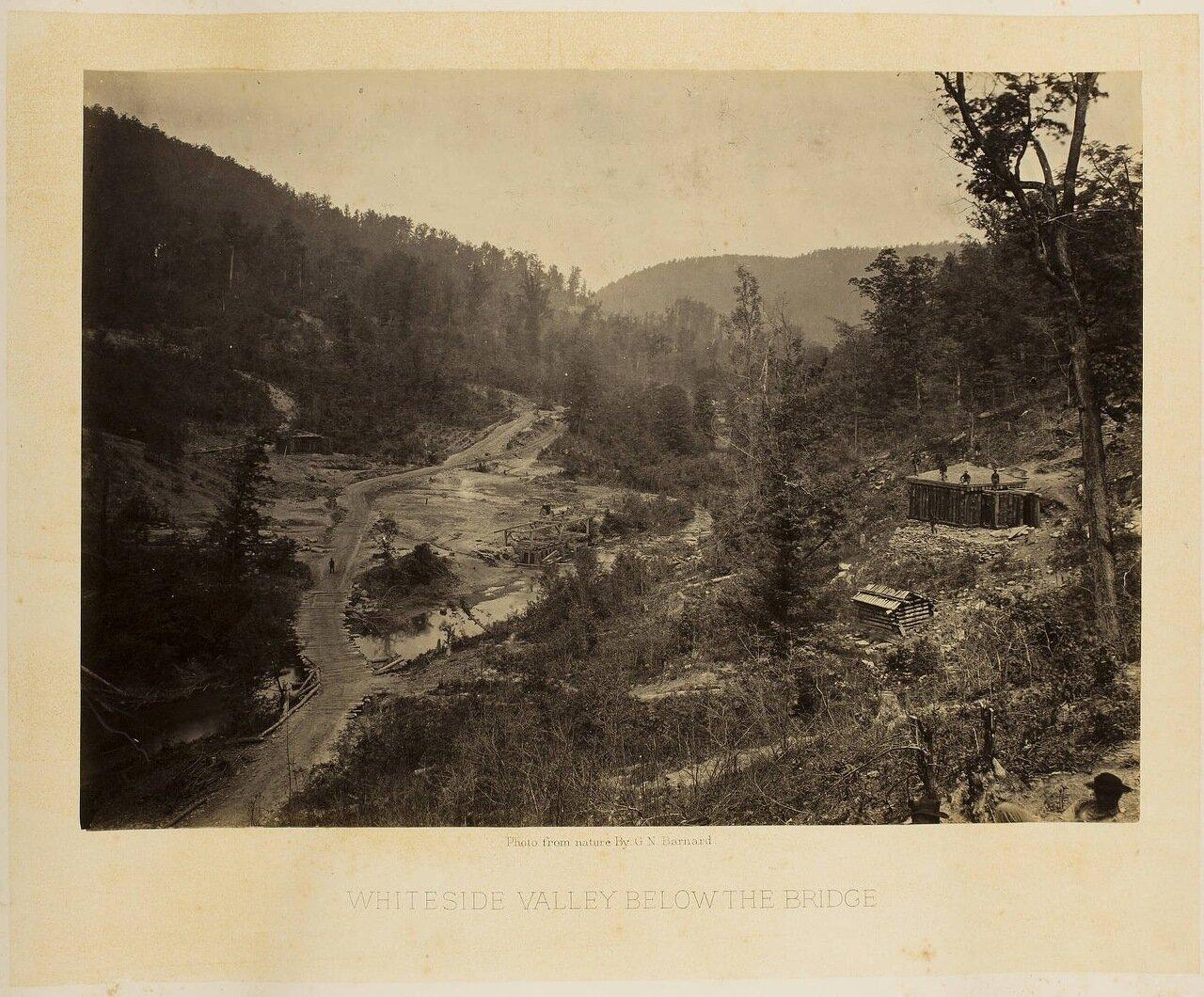 Уайтсайд Долина ниже моста