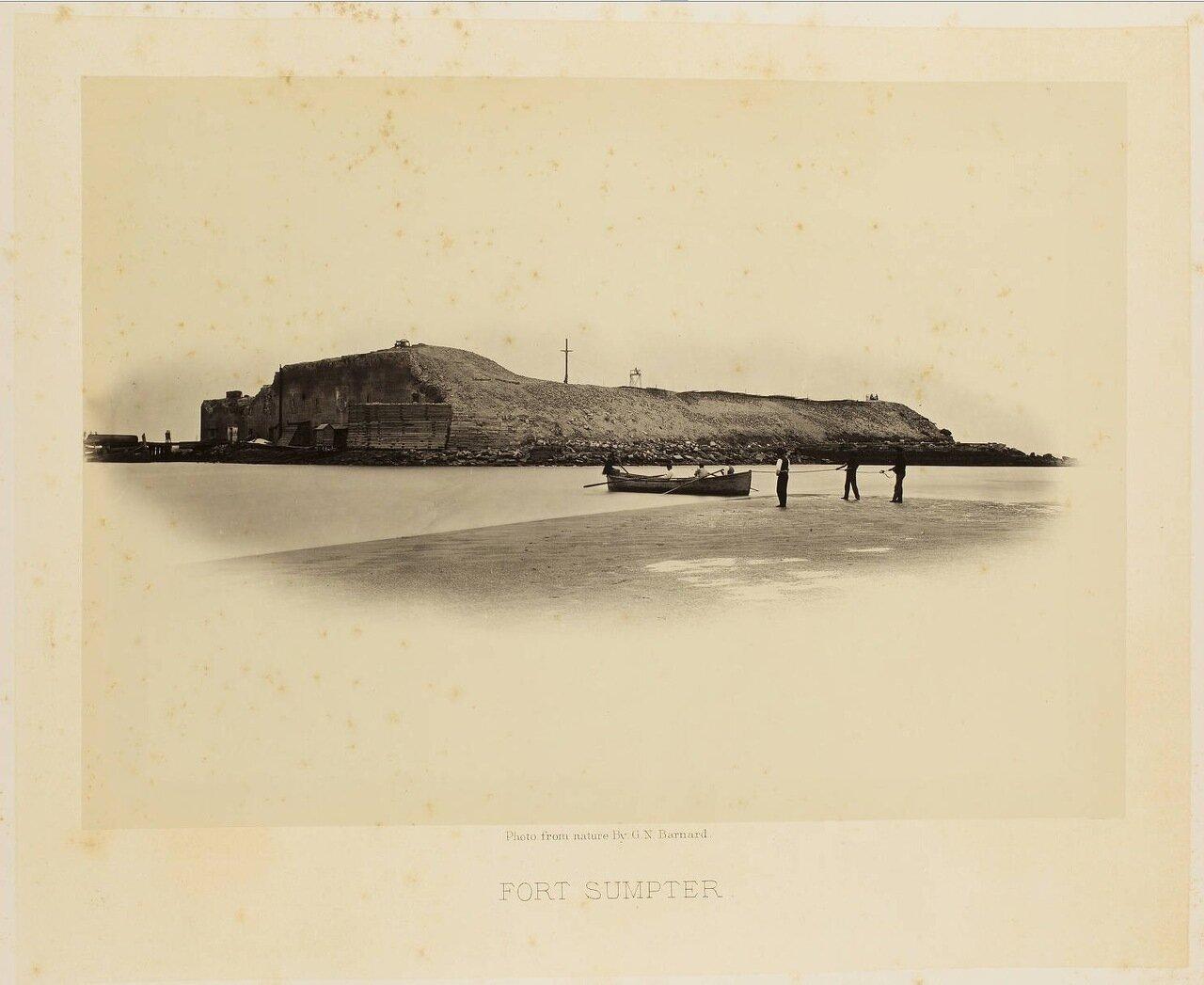 Форт Самтер около города Чарльстон, Южная Каролина