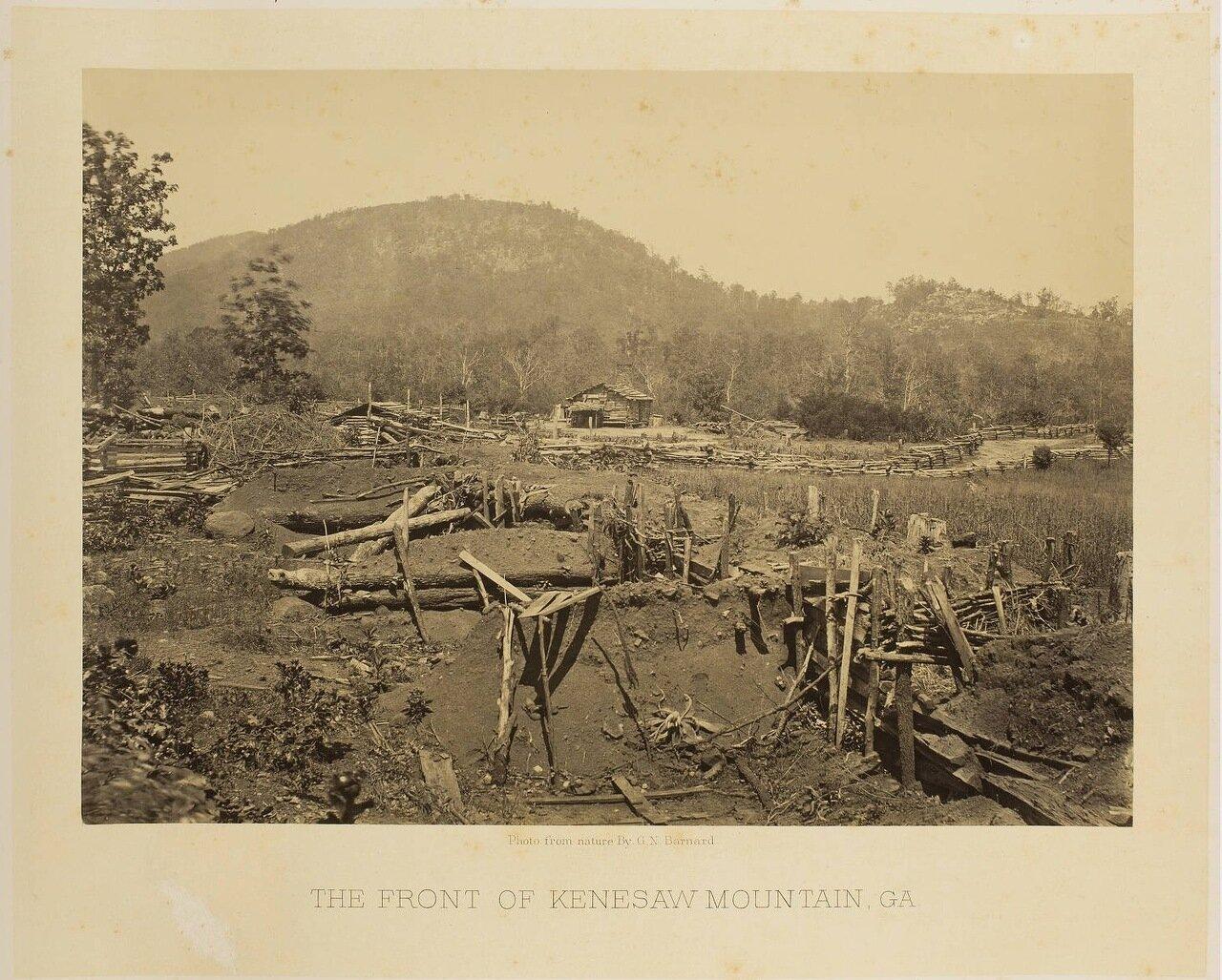 Линия обороны в горах Кеннесо, Джорджия