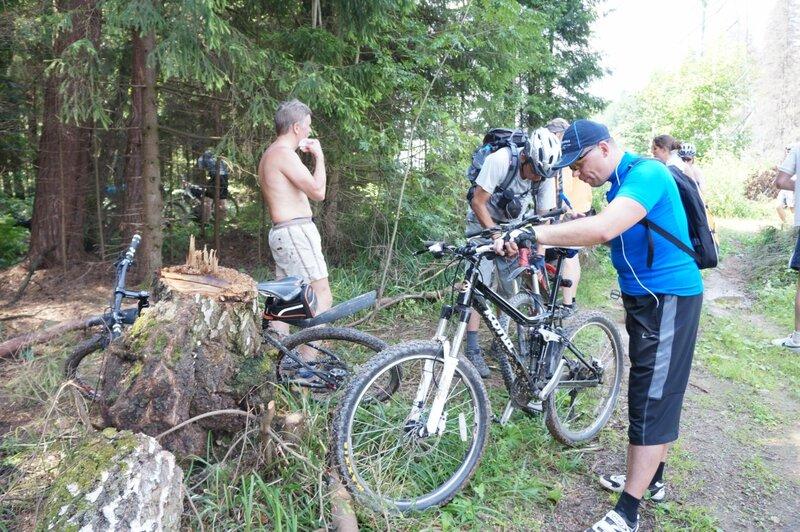 Велопробег от Челюскинской до Софрино