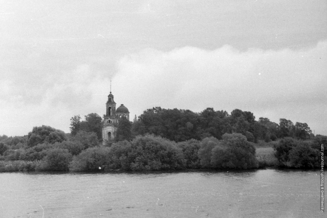 Тверская область, Кимрский район, село Белое. Церковь Николая Чудотворца
