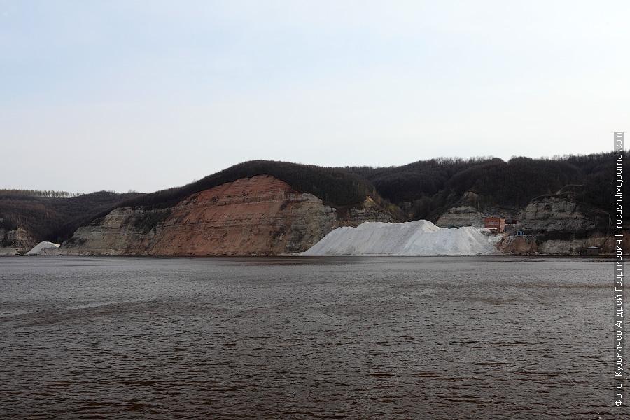 Камско-Устьинский гипсовый рудник близ поселка Тенишево