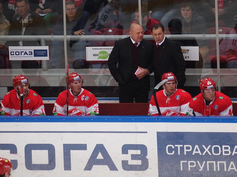 «Спартак» vs «Автомобилист» 1:2 Б чемпионат КХЛ 2013-2014 (Фото)