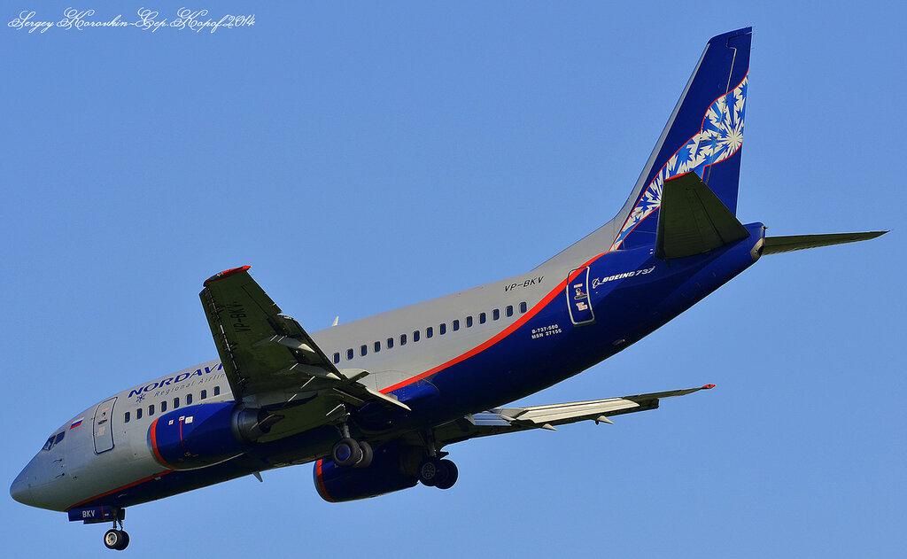 Boeing 737-505 Nordavia