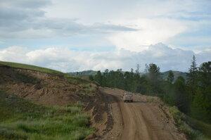 Дорога после Бояровки на Тоора-Хем