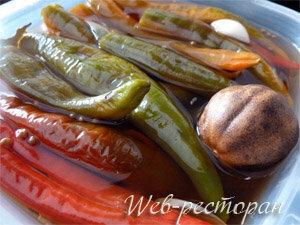 Как хранить маринованный перец