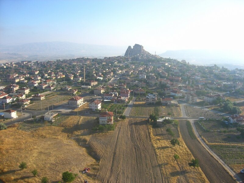 Крепости Каппадокии: Учхисар, Башхисар и Ортахисар - Руины, Крепость, Достопримечательности, Горы - turkey, cappadocia