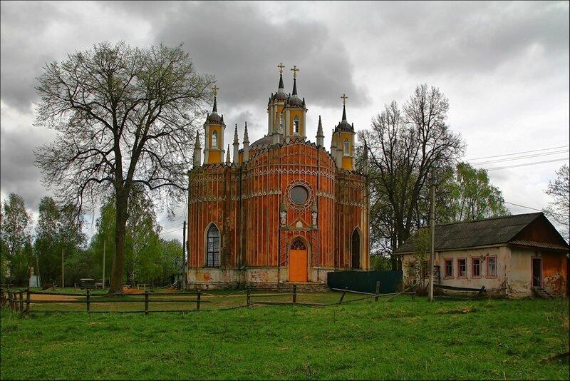 Церковь Преображения Господня в Красном, 1790