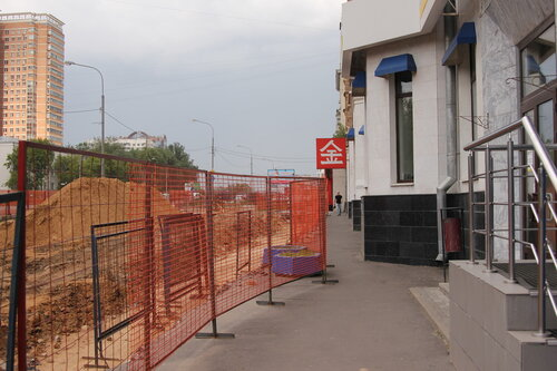 Реконструкция Можайского шоссе