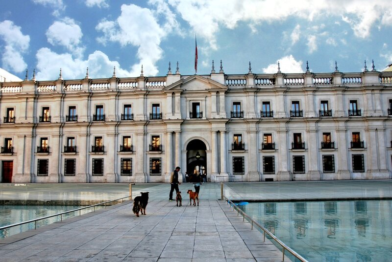 Дворец Ла-Монеда (Palacio de La Moneda)