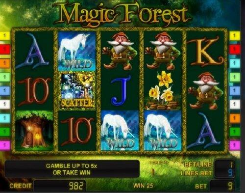 Secret Forest | Игровые автоматы онлайн
