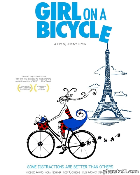 Девочка на велосипеде / Girl on a Bicycle (2013/WEB-DL/WEB-DLRip)