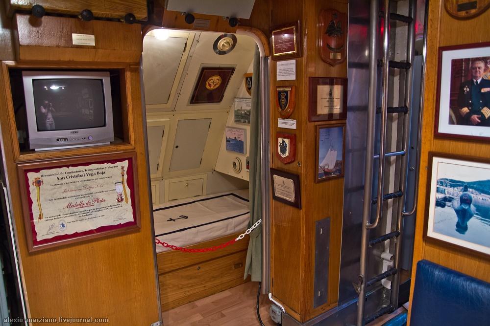 подводная лодка каюта фото