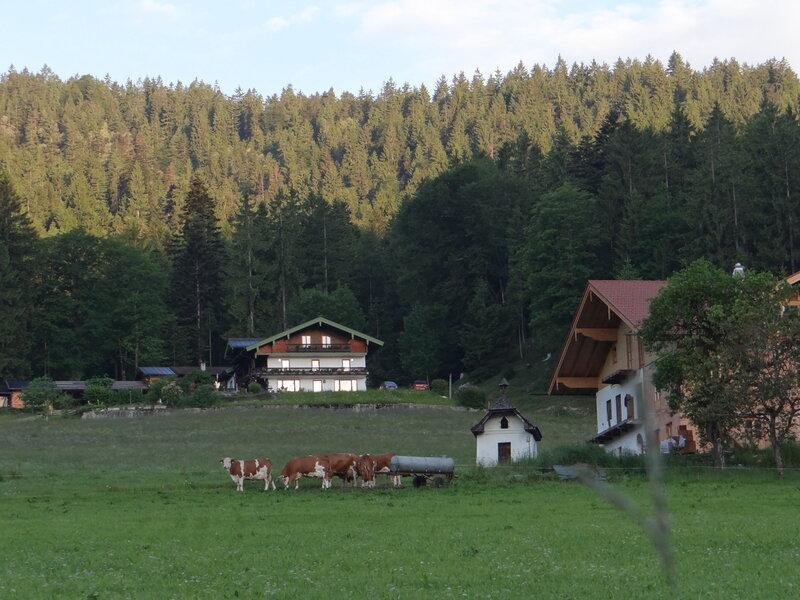 Берхтесгаден и Зальцбург.