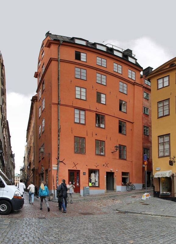 Stockholm, Gamla Stan. Merchant square. Köpmantorget .Stockholm, Gamla Stan