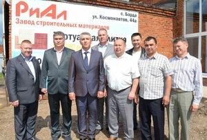 """В Барде открылся завод стройматериалов """"РиАл"""""""