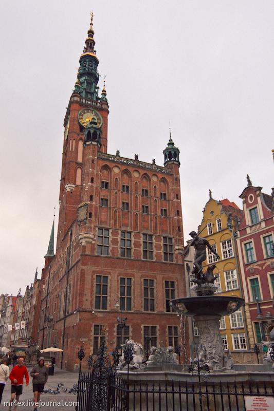 Польша. Гданьск. Старый город