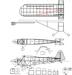 Чертеж модели самолёта Piper J3 Cub