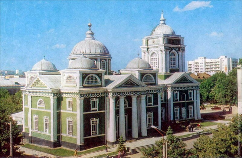 Краеведческий музей, Белгород, 1980, фото А.Топуза
