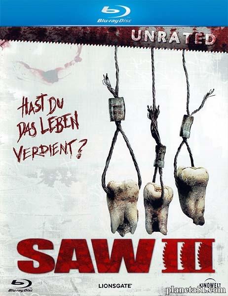 Пила3 / Saw III [Unrated] (2006/HDRip)
