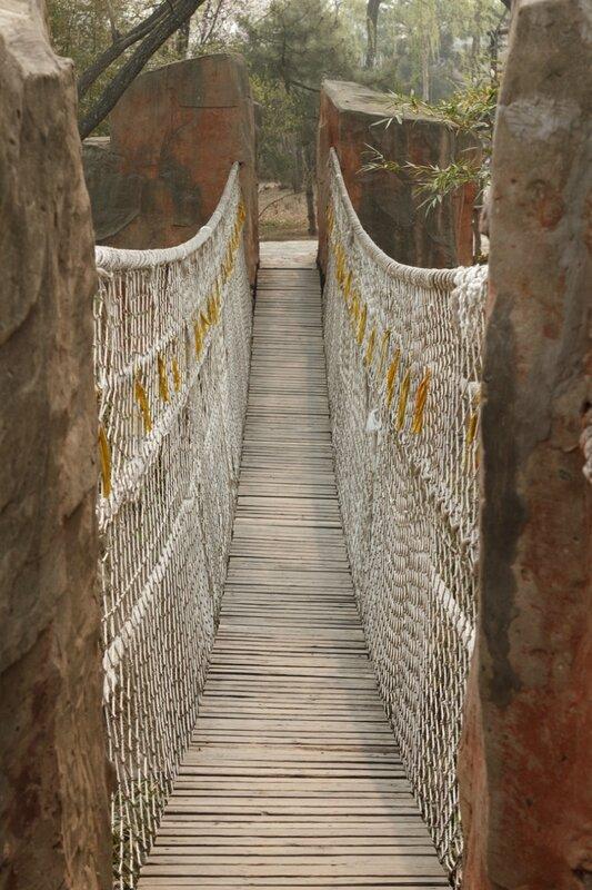 Веревочный мостик, Парк национальностей, Пекин