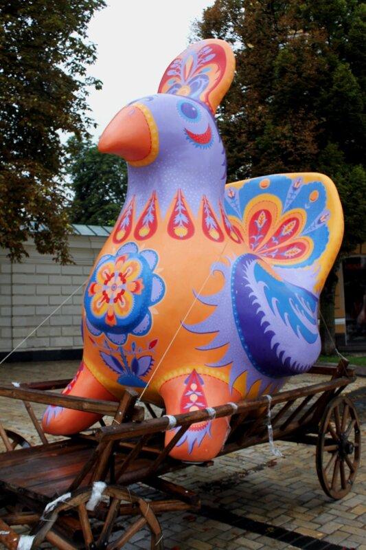 Чудо-птица города Черкассы