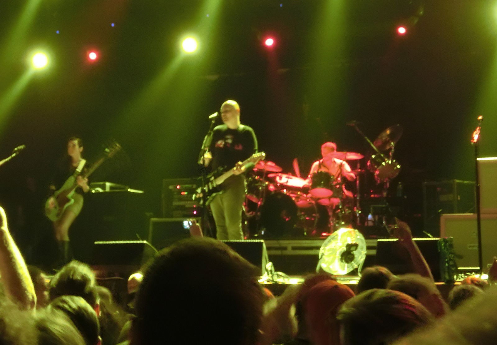 The Smashing Pumpkins @ A2, St Petersburg, Russia 2013.08.05