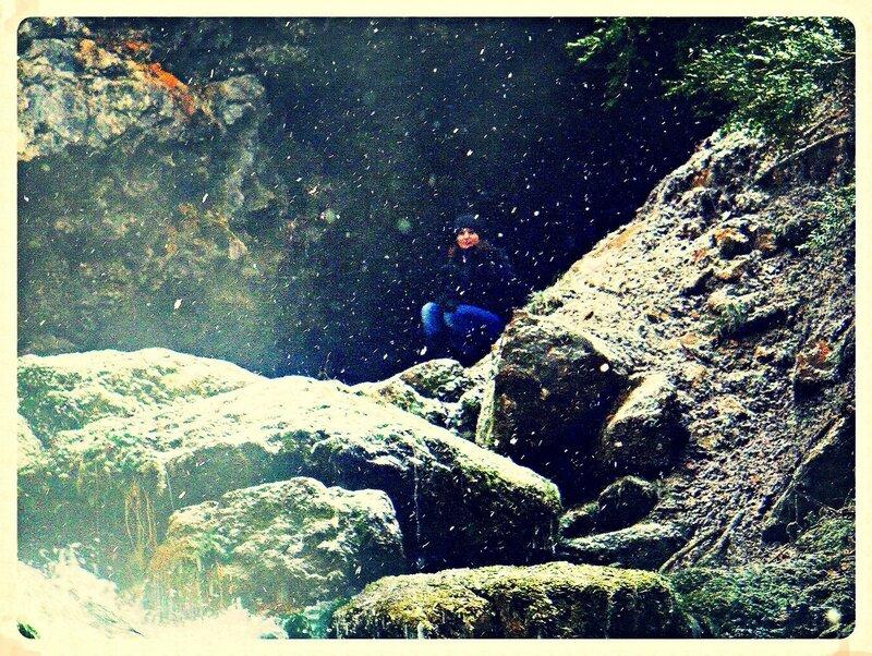 Кавказ, Гуамское ущелье, фотограф Алексей Значков, зима