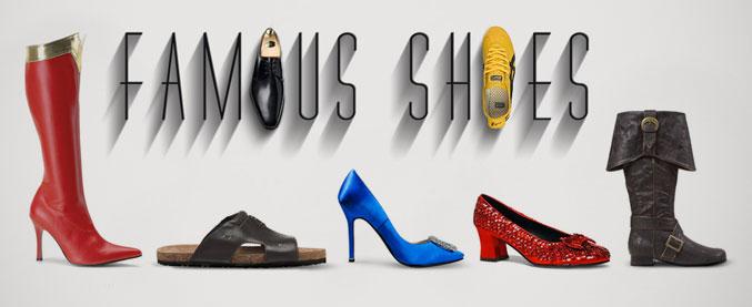 Знаменитая обувь культовых персонажей / Famous Shoes by Federico Mauro