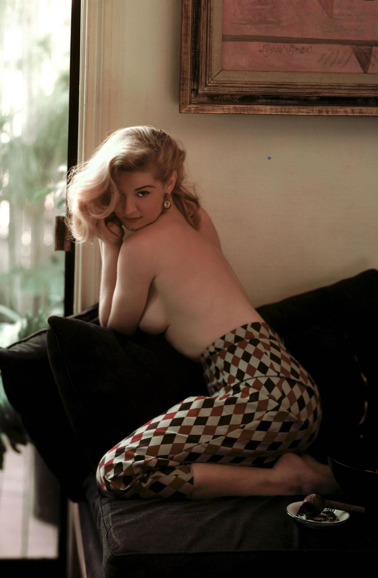 Playboy Playmate - Miss April 1955 | Marilyn Waltz / Мэрилин Валц