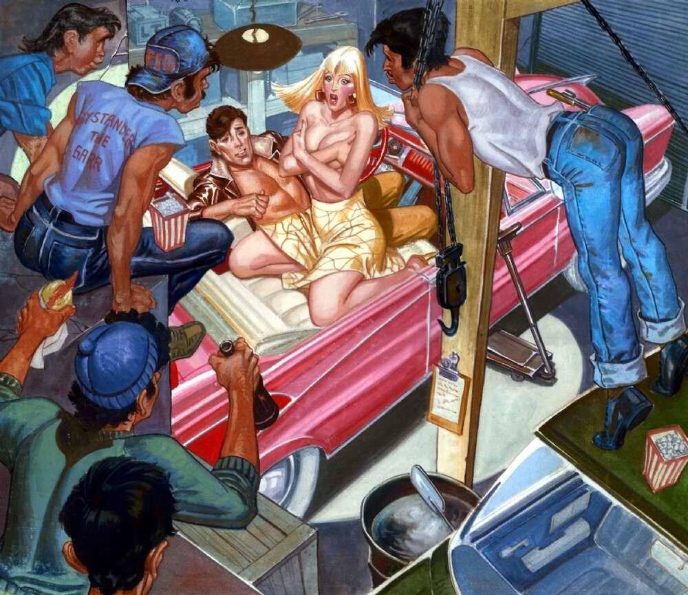 Ночь в автомастерской - Rafael Gallur