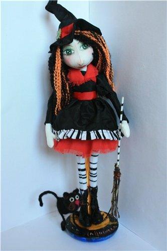 ведьмочка с котом