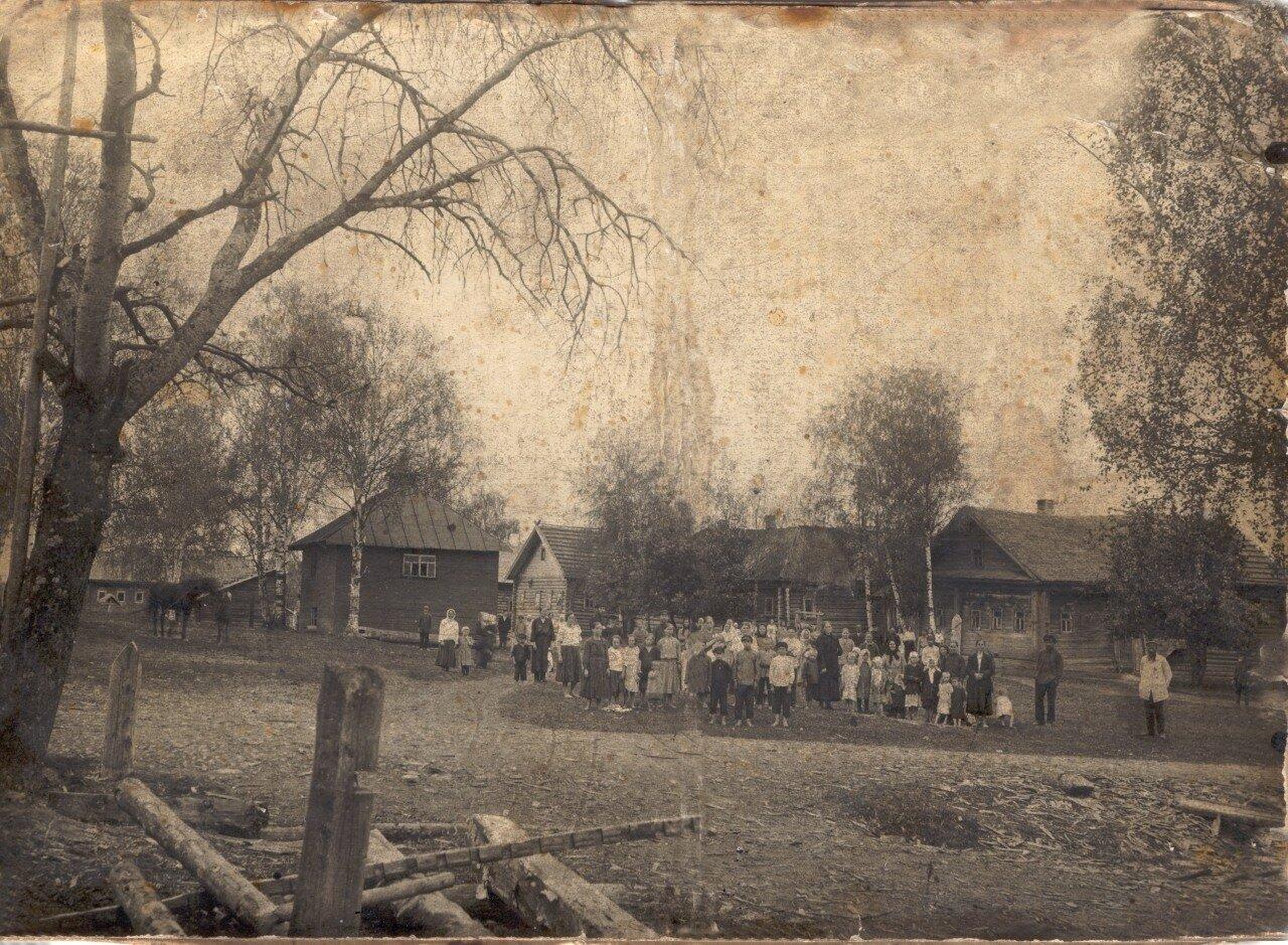 Часовня в деревне Большой Починок. 1910 г.