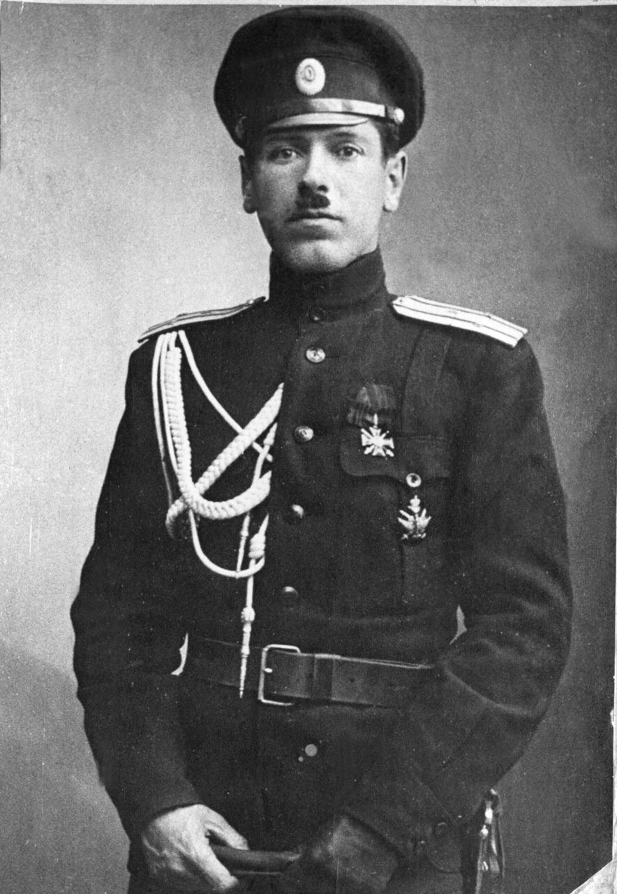 1915 г. Борис Михайлович Шапошников.