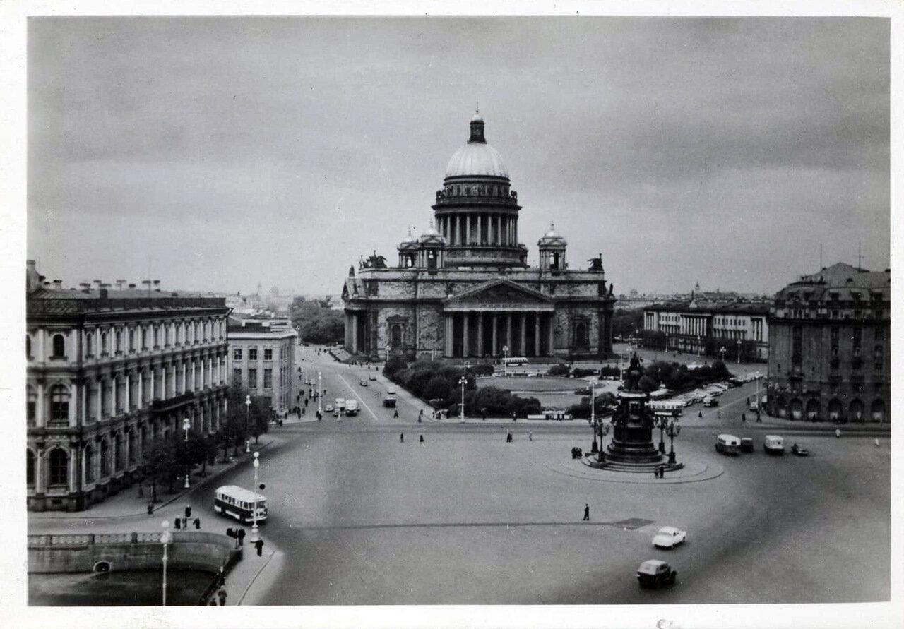 Исаакиевская площадь.1960 год