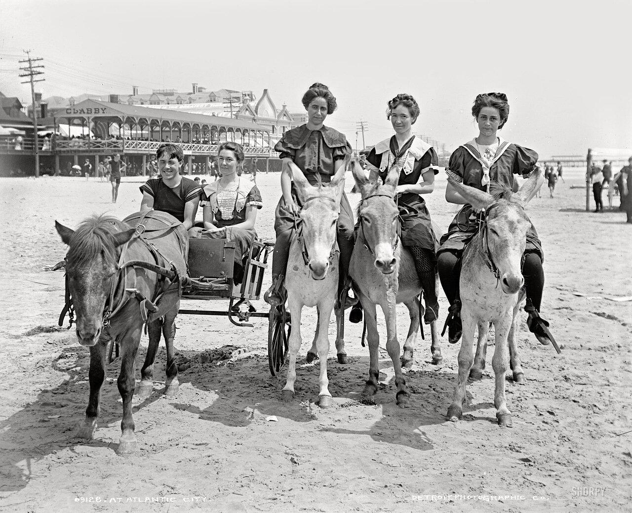 1905. Пляжный транспорт.