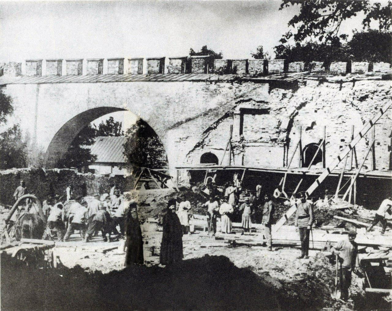 Cтроительство Епархиального дома в Кремле