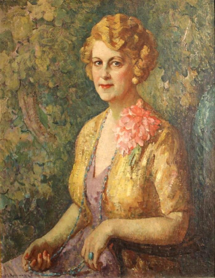 Женский портрет, Миша Ашкенази(1888-1961)