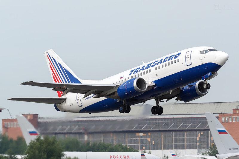 Boeing 737-524 (VP-BYO) Трансаэро D801338